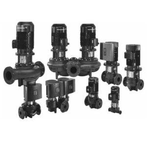 Electropompe de circulatie Grundfos, TP, TPD, TPE, TPED