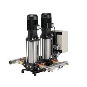 Grup de pompare cu pompe verticale de presiune