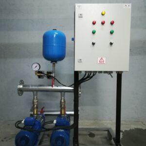 Grup de pompare antiincendiu, hidranti, (1A+1R), 2 x 15 mch, 50 mCA